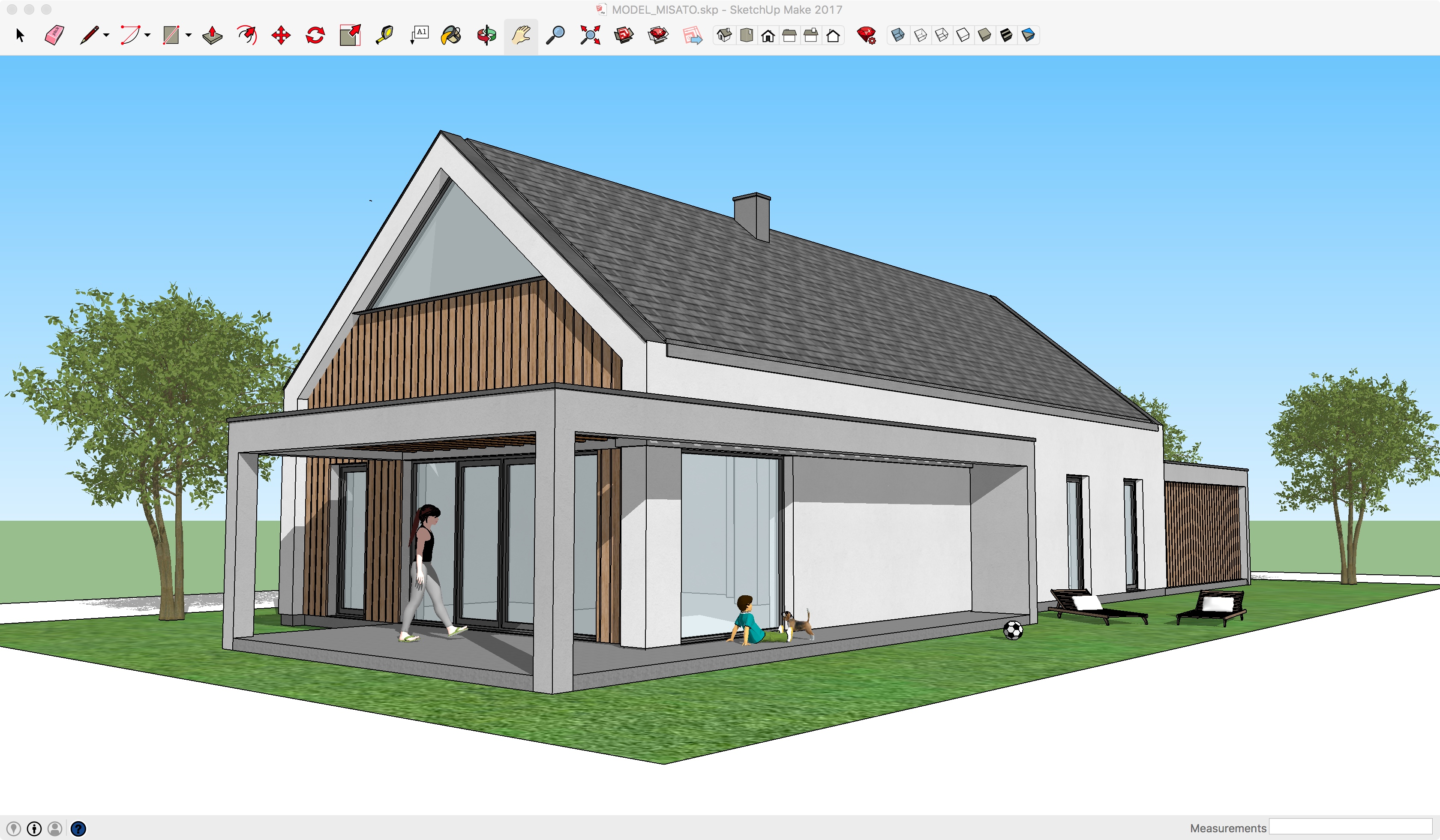 Misato Model 3d Nano House
